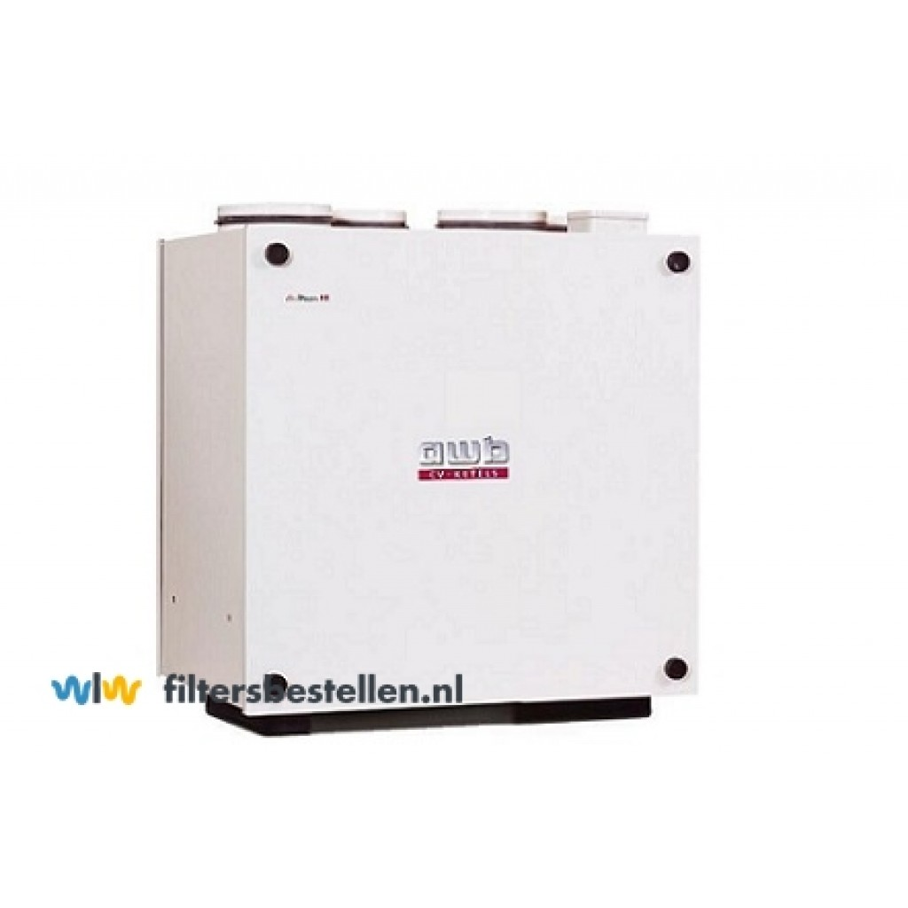 AWB Airmaster HRD 275 / 350 met bypass unit